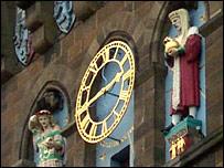 Cardiff Castle clock