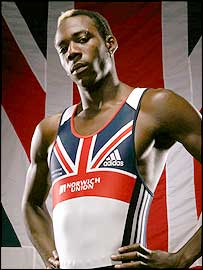 British triple jumper Phillips Idowu