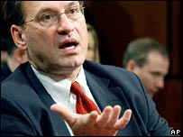 US Supreme Court nominee Samuel Alito