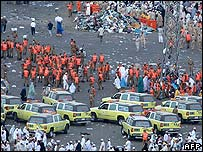 Aftermath of the Hajj stampede