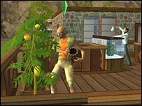 Screenshot from The Sims 2
