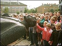 Valmiera, in Latvia 1990