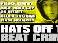 anti-hoodie poster