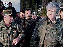 Ratko Mladic and Radovan Karadzic
