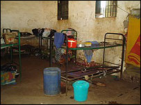 Women's cell in Nigeria [Anne Isabelle Leclercq/IRIN]