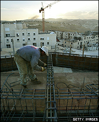 Building at the Maale Adumim settlement