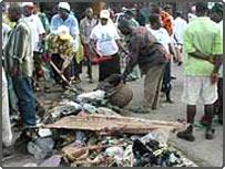 rubbish dump in Nigeria
