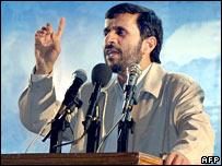 Mahmoud Ahmadinejad, presidente de Irán.