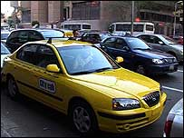 City cab in Cairo