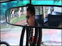 Hani Elwi, taxi driver