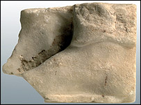 The marble heel which the Germans returned to Greece (University of Heidelberg)