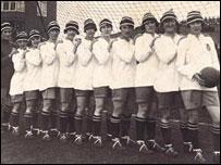 The Dick Kerr Ladies - photo courtesy of William Parr