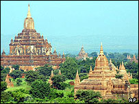 Temples at Bagan - archive picture