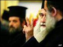 Clergymen of the Greek Orthodox Church