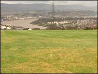 Field outside Derry