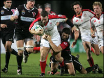Ulster centre Kevin Maggs