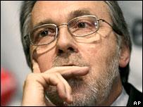 Swiss senator Dick Marty