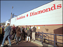 Nene Park - the home of Rushden & Diamonds