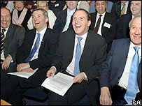 Mark Oaten, Chris Huhne, Simon Hughes and Sir Menzies Campbell