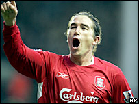 Liverpool's Harry Kewell