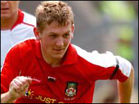 Wrexham midfielder Mark Jones earned a precious away win