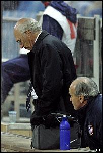 Carlos Bianchi, ex entrenador del Atl�tico de Madrid