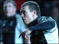 Ospreys full-back Adrian Cashmore