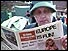Woman reads pro-Europe newspaper