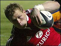 Lewsey in the tries v. Bay, man