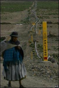 Bolivia, gas
