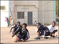 Nigerian polio victims play Para Soccer