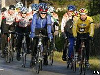 The Rhyl Cycling Club ride on Sunday