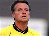 Andy Sinton - the new manager of Fleet Town