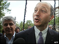 Laurent Fabius of France's Socialist Party