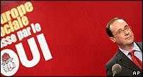 Francois Hollande of France's Socialist Party