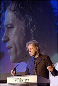 Bob Geldof - picture by Justin Williams