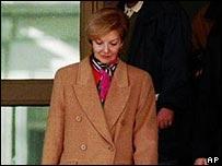 Mar�a Estela Mart�nez de Per�n, en la d�cada de los noventa.
