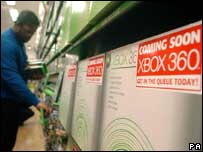 Shop sold out of Xbox 260 console, PA