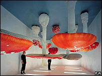 Carsten Holler's Upside-Down Mushroom Room