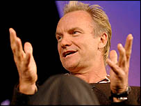 Sting, photo courtesy Justin Williams