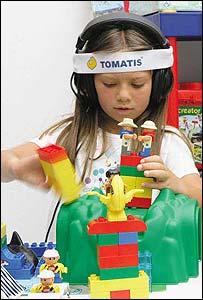 Paciente de Tomatis