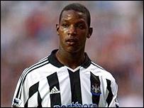 Newcastle defender Titus Bramble