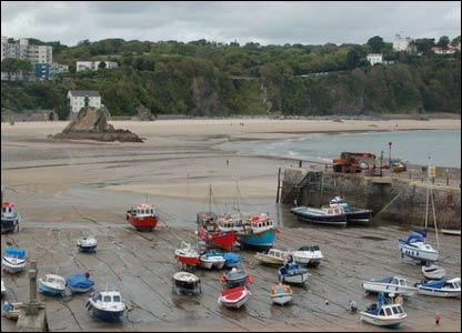 Tenby harbour, as taken by Martin Glaister from Cardiff