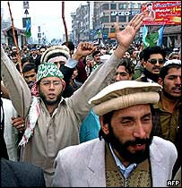 Anti-US protest in Peshawar