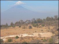 Popocatepetl (BBC)
