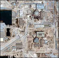 Bushehr nuclear power station (image: DigitalGlobe)