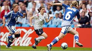 England kick off at Euro 2005