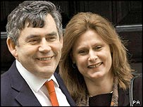 Gordon and Sarah Brown