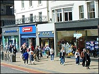 Edinburgh (Picture courtesy of Freefoto.com)