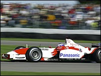 Toyota's 2003 Formula One car